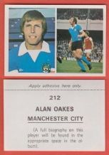 Manchester City Alan Oakes